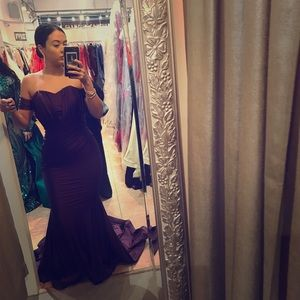 Dresses & Skirts - NYC Glamour Couture evening gown